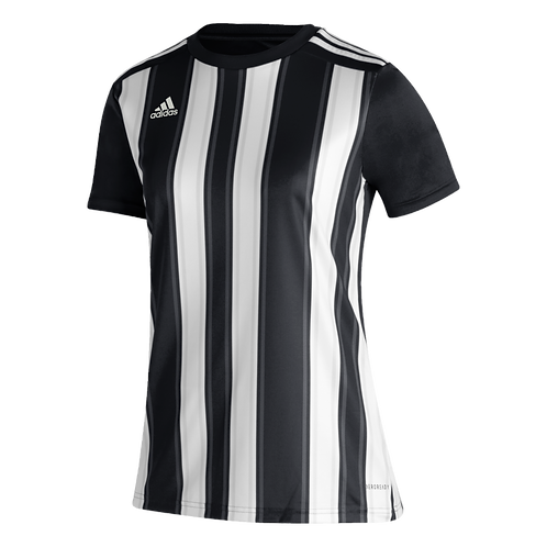 AC TRAINING ADIDAS STRIPED 21 JERSEY BLACK/WHITE