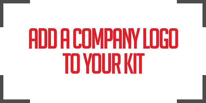 add COMPANY LOGO TO YOUR JERSEY
