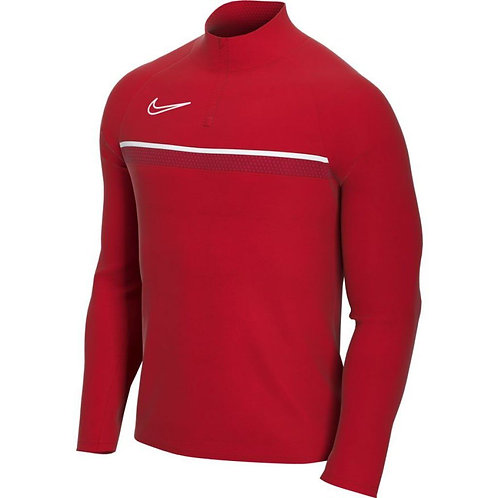 NIKE DRI-FIT ACADEMY DRILL TOP RED