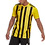 Thumbnail: AC TRAINING ADIDAS STRIPED 21 JERSEY SKY YELLOW/BLACK