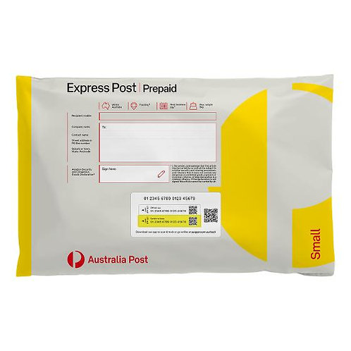 Postage bag Express Post <500gm $15