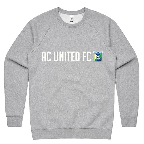AC FLEECE SWEAT GREY ADULTS