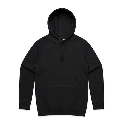 AS COLOUR SUPPLY HOOD BLACK-MENS