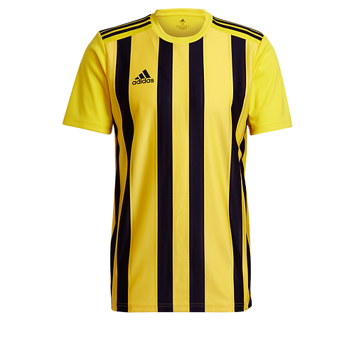 AC TRAINING ADIDAS STRIPED 21 JERSEY SKY YELLOW/BLACK