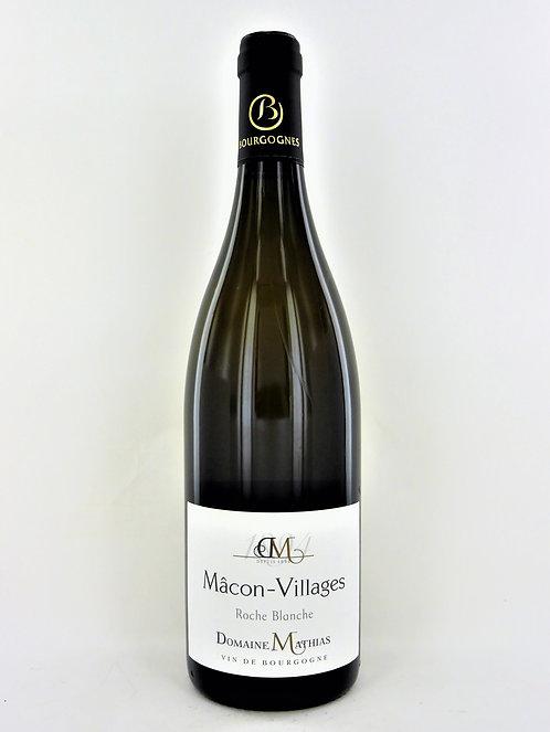 Mâcon-Villages Roche Blanche 2018 Domaine Mathias - Bio