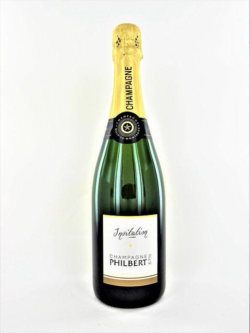Champagne Invitation Brut 1er cru Philbert et Fils