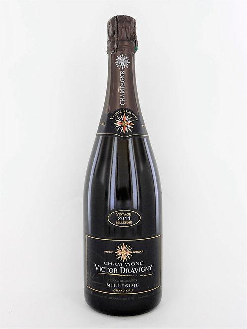 Champagne Victor Dravigny Millesime 2011 Grand Cru Brut - Château d'Avize