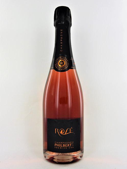 Champagne Brut 1er cru Rosé Philbert et Fils