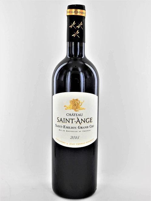 Château Saint-Ange 2015 Saint-Emilion Grand Cru, Famille Doublet