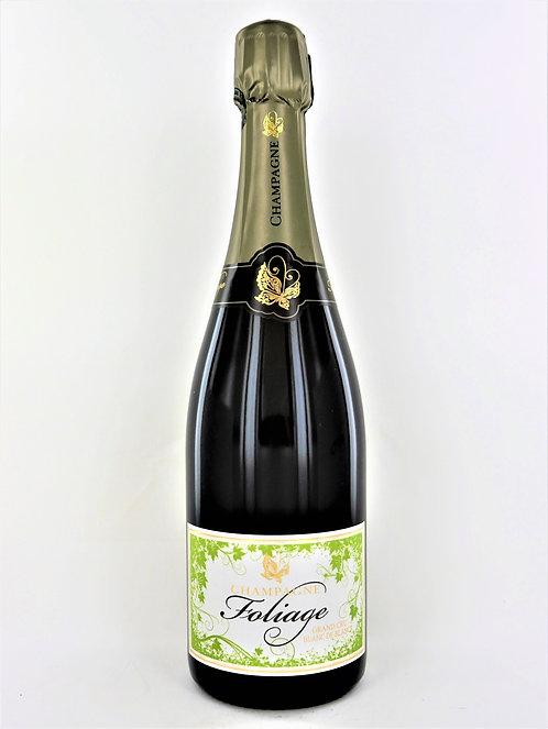 Champagne Foliage Grand Cru Extra-Brut - Bio - Château d'Avize