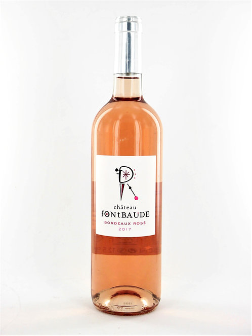 Château Fontbaude 2017 Rosé, Bio