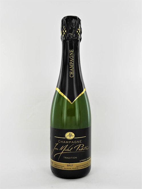 Champagne Jean-Michel Pelletier Brut Tradition - demi-bouteille