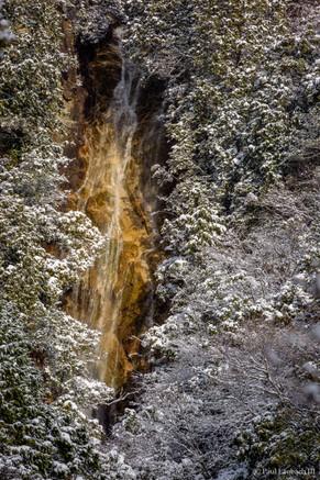 Yobaino Falls Snow