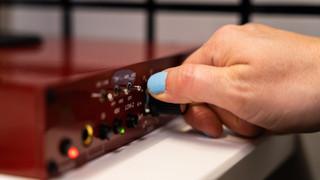 Professional voice over studio, Stephanie Matard
