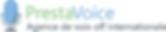 Presta voice logo