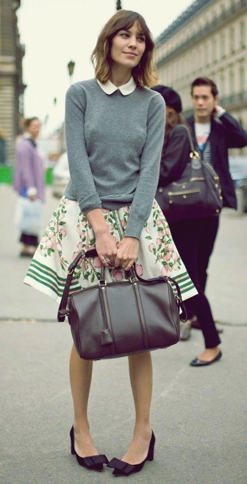 Street Style Alexa Chung
