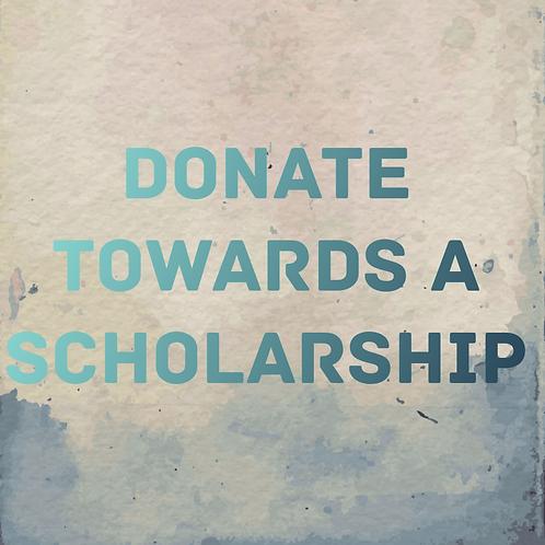 Donate Towards a Scholarship