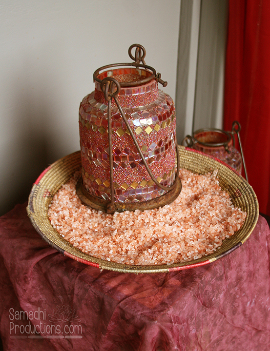 Himilayan salt for purification