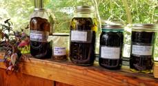 Sun infused oils