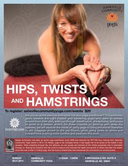Hips, Twists, & Hamstrings
