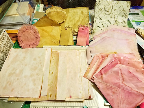 Mixed Eco Dyed Paper Pack
