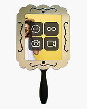 selfie mirror roaming handheld photo booth