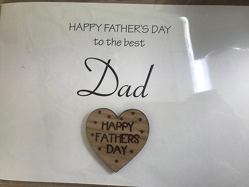 Handmade 'Dad' card