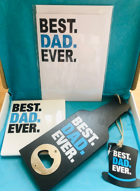 Best Dad Ever Gift Set