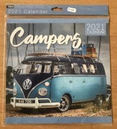 VW Campervan Calendar 2021