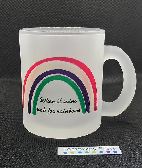 Frosted Rainbow Mug