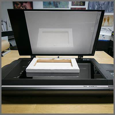 Scanning artwork up to A3