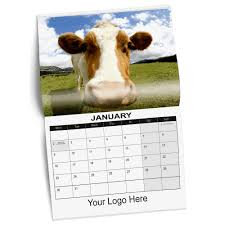 A4 Personalised Stapled Calendar