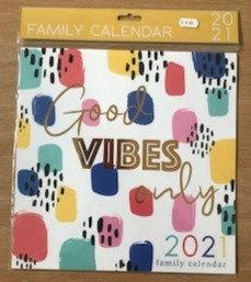 Good Vibes Calendar 2021
