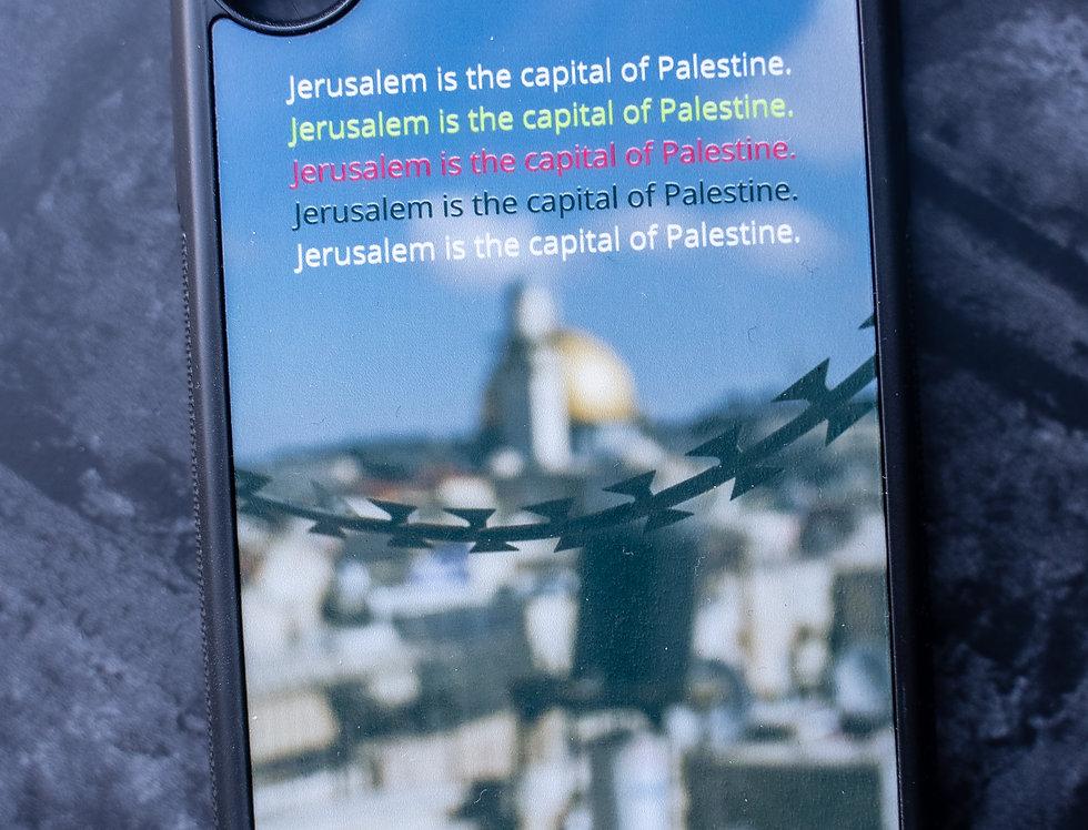 Jerusalem is the Capital of Palestine Phone case