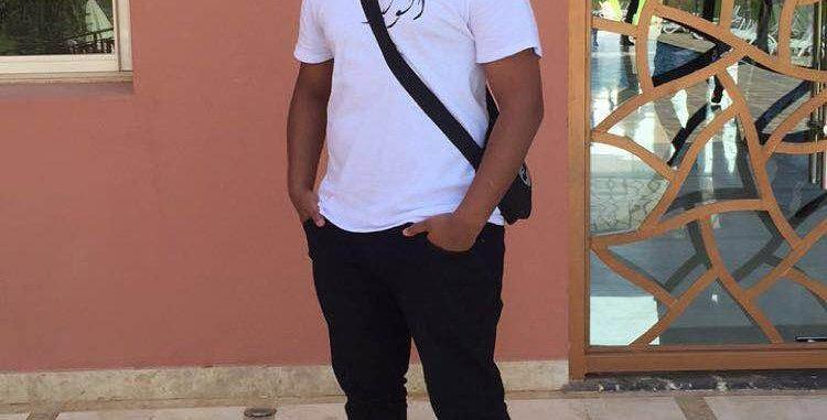 White Custom Arabic T-shirt