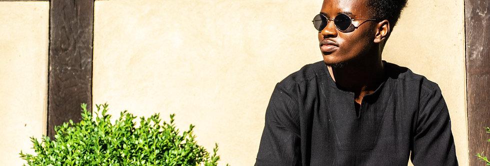 Short Sleeve Mens' Linen shirt | Andalus