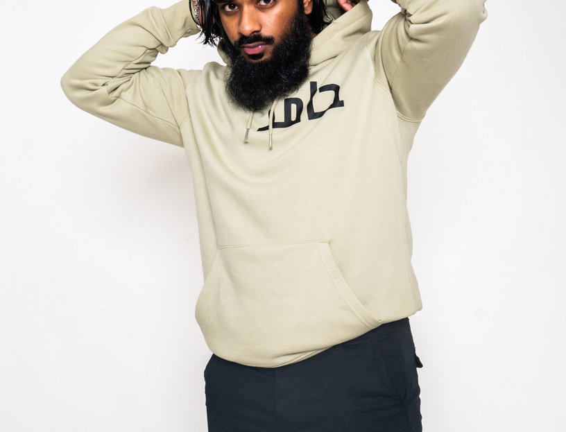 [Premium] Moss Green Custom Arabic Hoodie