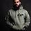 Thumbnail: Military Green Custom Arabic Hoodie