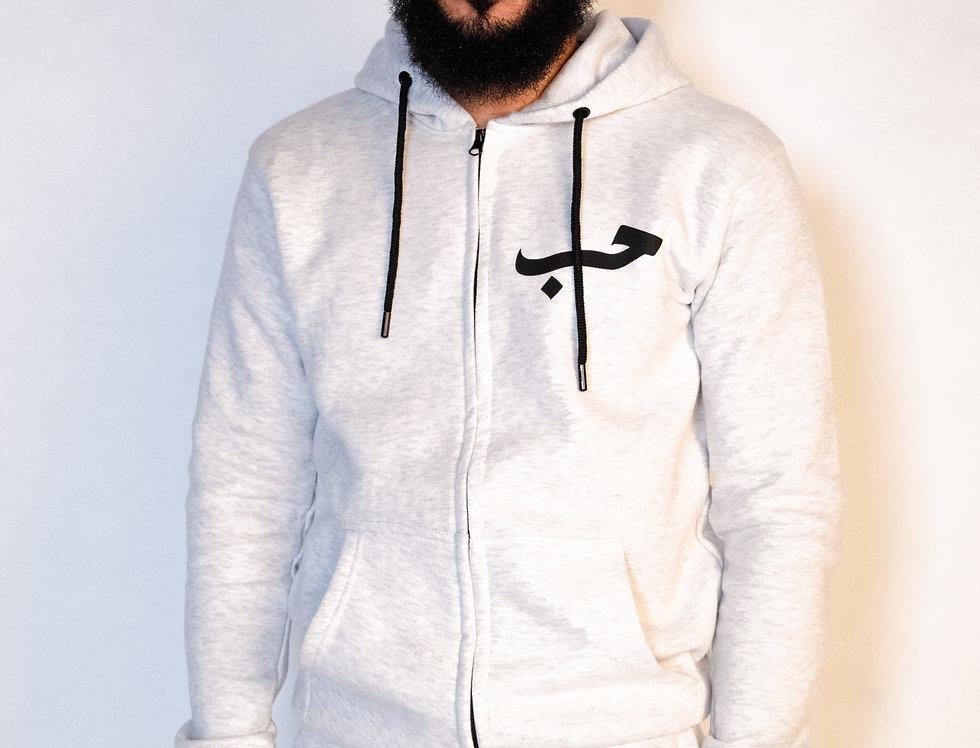 Custom Arabic Zip-Up Tracksuit