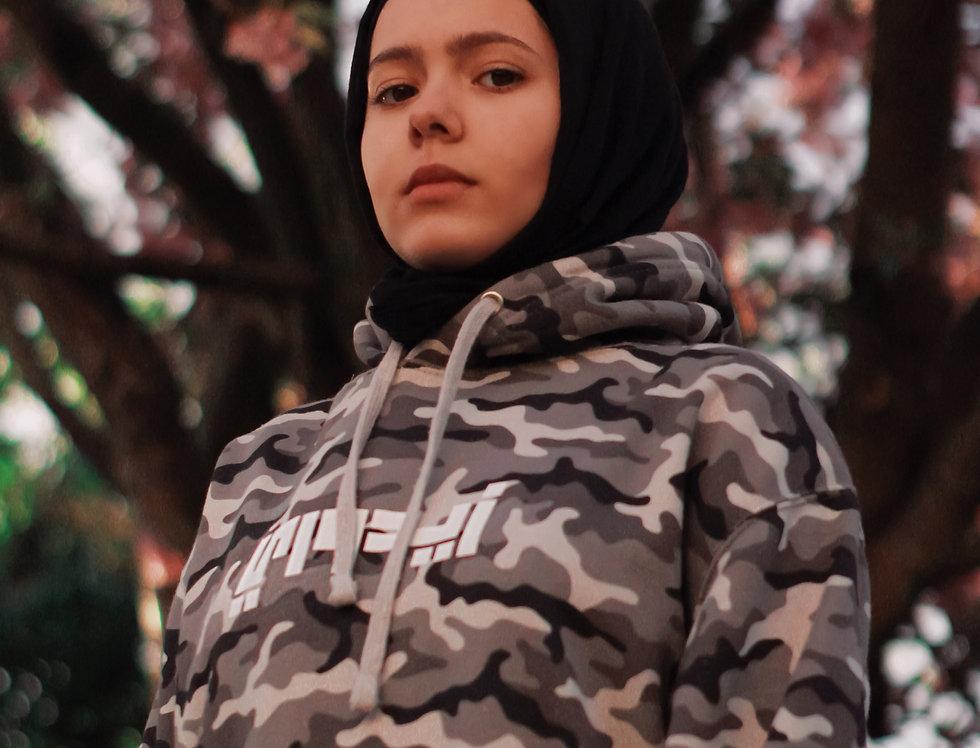 Mist Camouflage Custom Arabic Hoodie