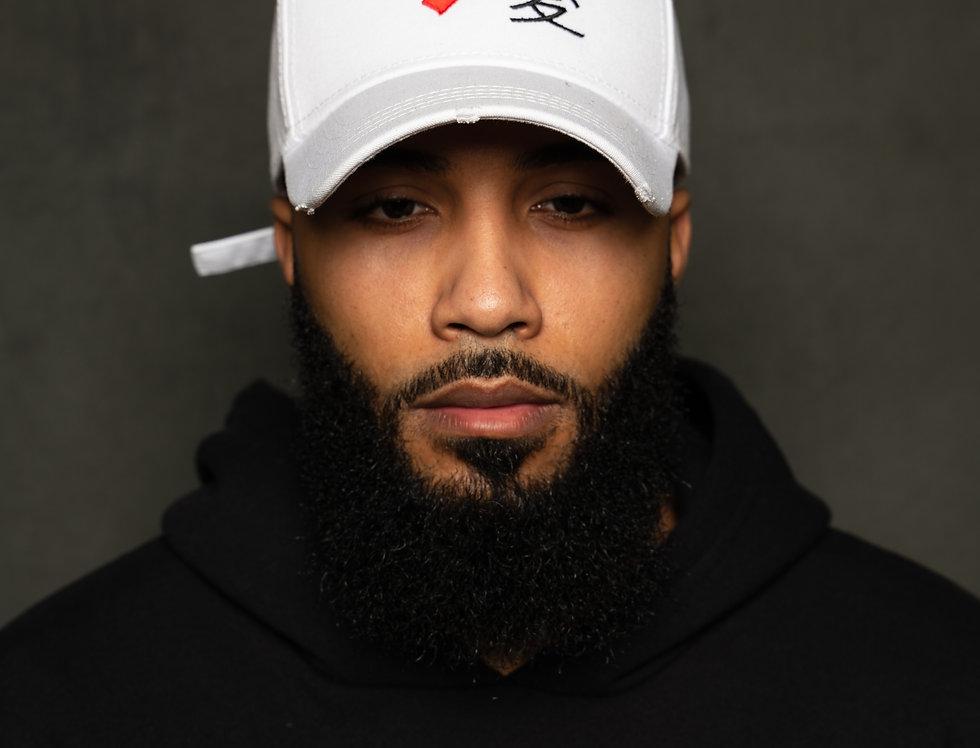 White Love Arabic Hat