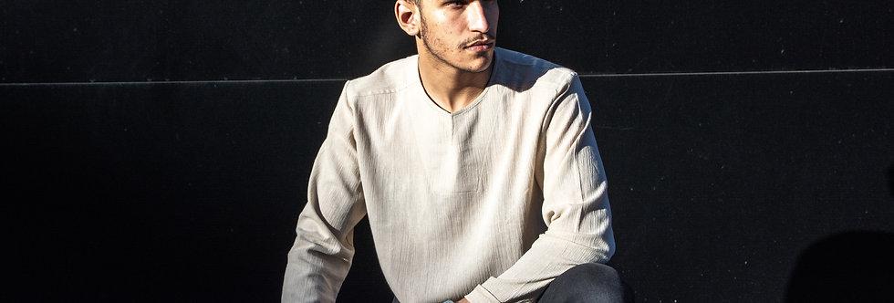 Long Sleeve Mens' Linen Shirt | Gurd