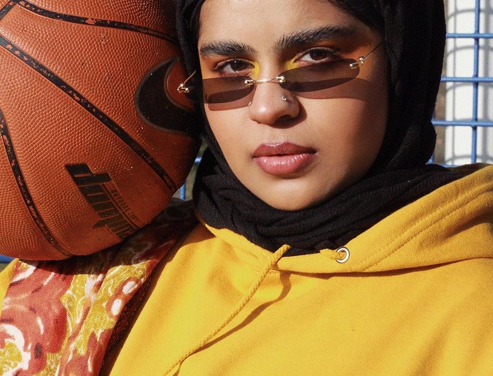 Mustard Custom Arabic Hoodie