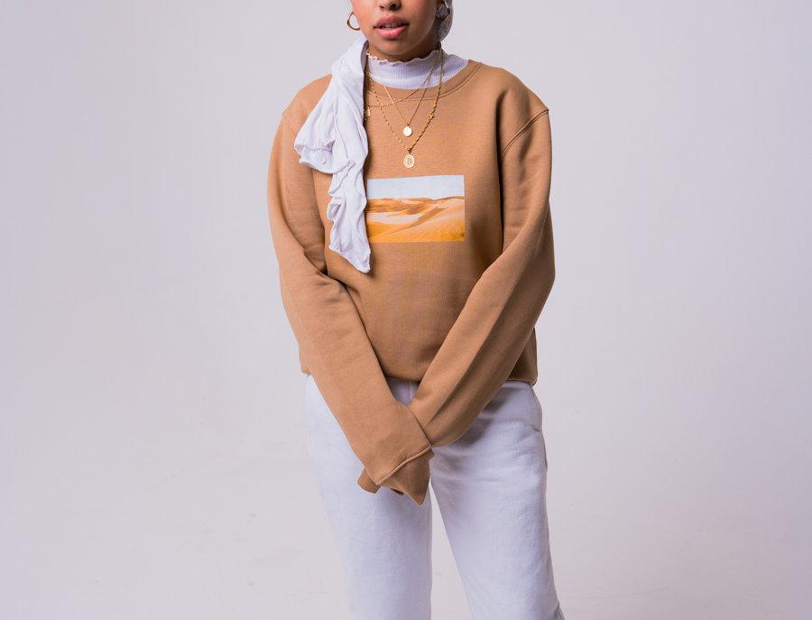 Zidouri Desert Capsule Sweatshirt (Desert)