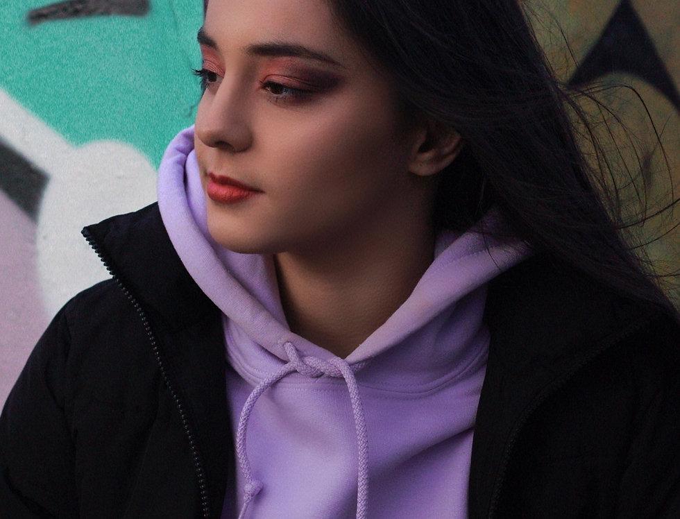 Lilac Custom Arabic Hoodie