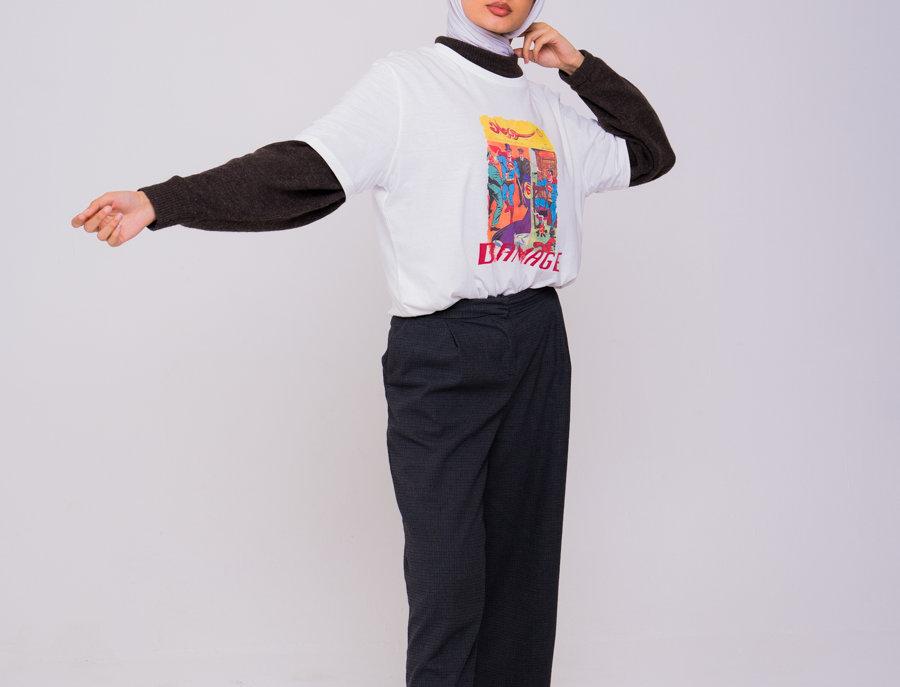 Zidouri Comic Edition T-shirt (White)