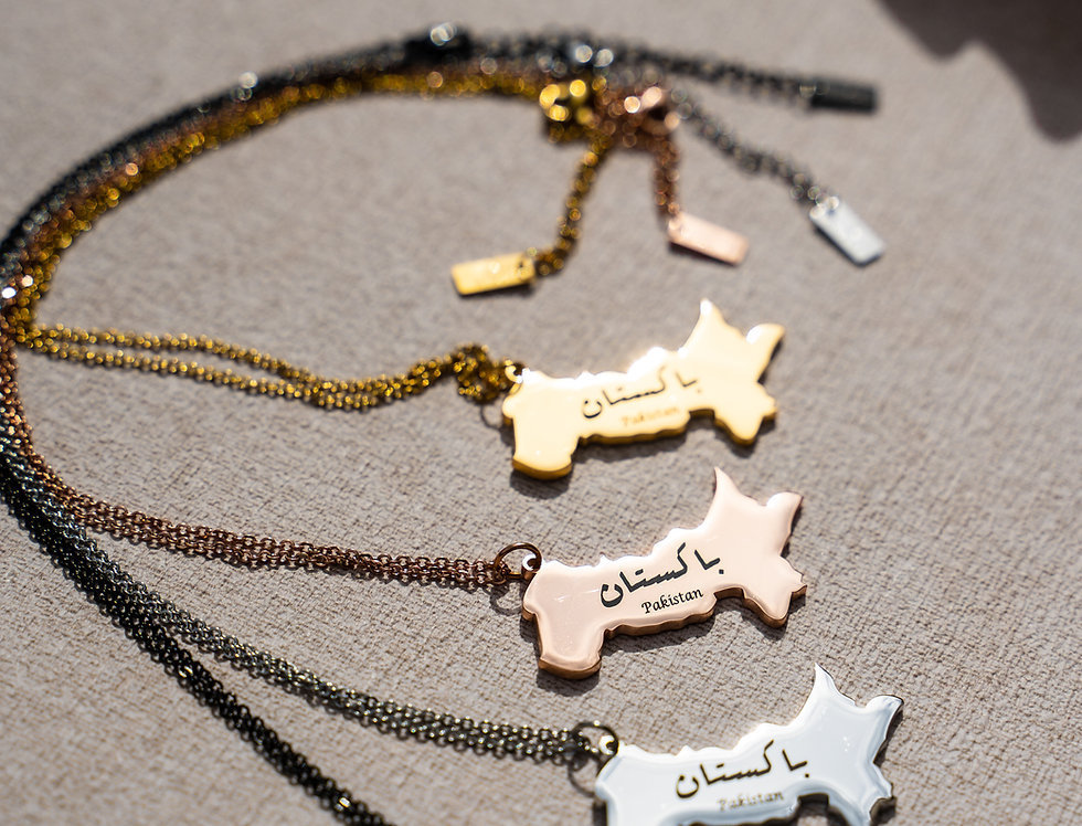 Custom Hometown Necklace