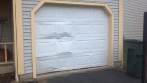 How to Repair Garage Door Dents?