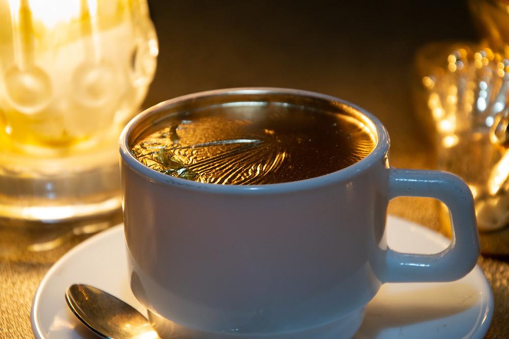 café con oro