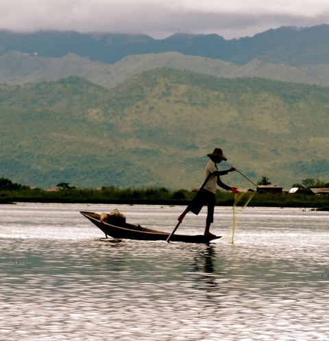 Fisherman Inle Lake - Copy